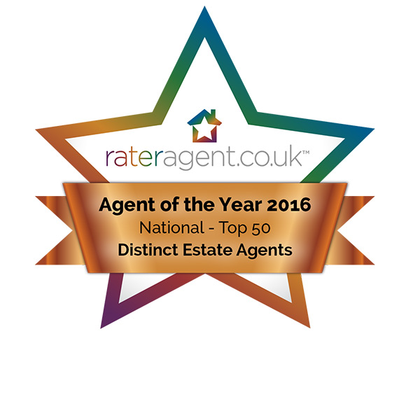 Distinct Property Consultants has won Top 50 UK Agent of The Year 2016